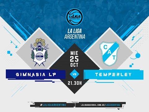 #LaLigaArgentina | 25.10 Gimnasia y Esgrima de La Plata vs. Temperley