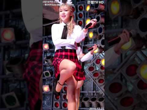 [은별TV] 20161225 베이비부(Baby Boo) 지유니 제63회 신발프로젝트@동대문밀리오레 - 02.Kiss Me