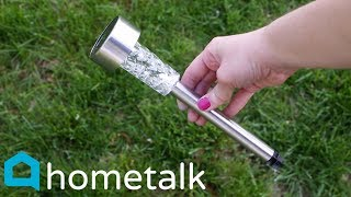 Solar Light Hacks | Imagine What You Can Do With Dollar Store Solar Lights! | Hometalk