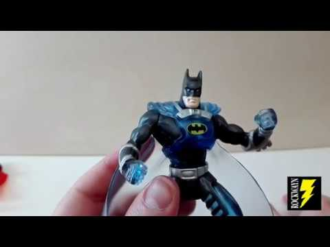 Superman e Batman (only mail) - Total Justice (Kenner 1996)