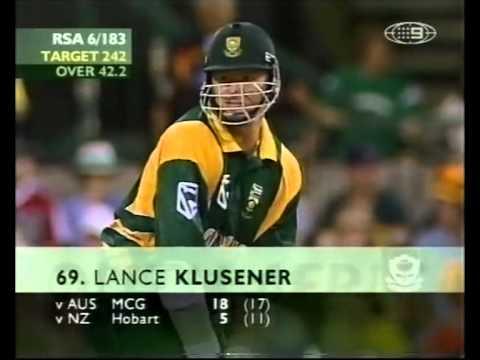 Australia vs South Africa MATCH 6 2001/02 VB SERIES PART TWO