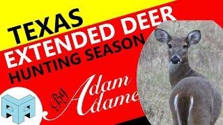 Texas Extended Deer Hunting Season