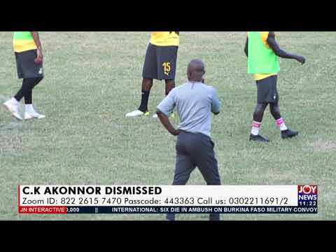 C.K Akonnor: Which coach would be your choice for Black Stars? - JoyNews Interactive (14-9-21)