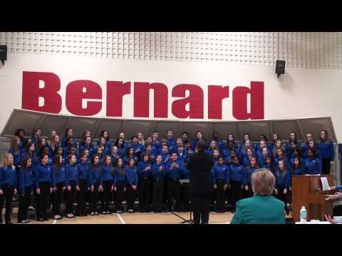Crestview Middle School Group Festival at Bernard Middle School 3-13-2013 - Honors Choir 1