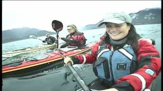 Seakayaking around Haida Gwaii, the Queen Charlotte islands