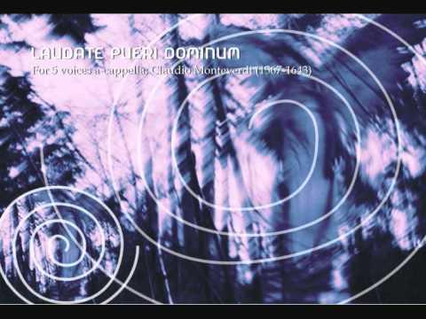 Laudate Pueri Dominum, for 5 voices a-cappella (Claudio Monteverdi)