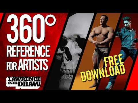 360° 3D Photographic Reference App For Artists [with FREE 🆓 Download]