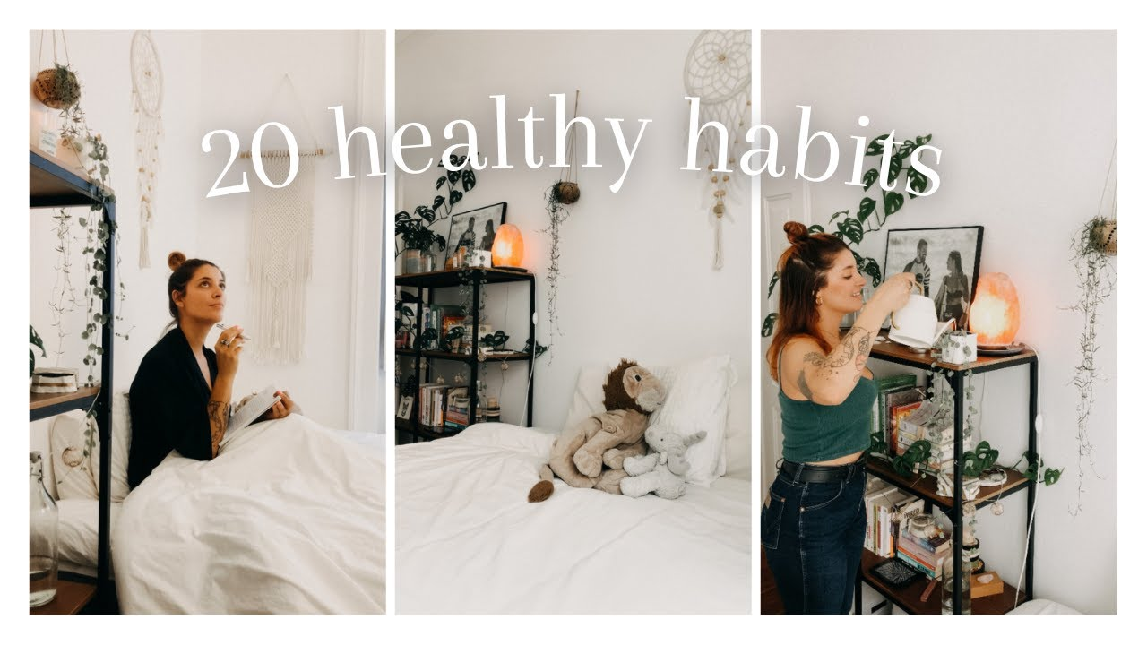 20 healthy habits you NEED to try ⎜ LIFE CHANGING HABITS to level up your life 2021