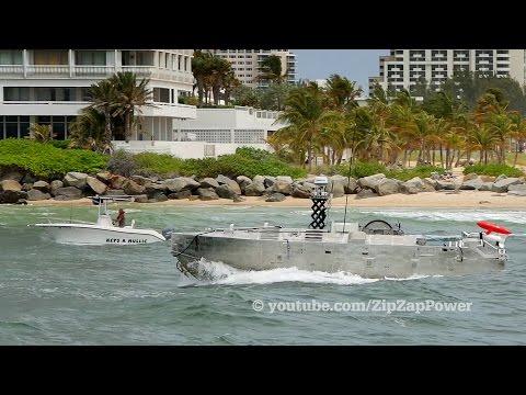 Drone Boat / CUSV Mine Hunter in Florida?