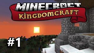 minecraft kingdomcraft smp vanilla 1 library construction