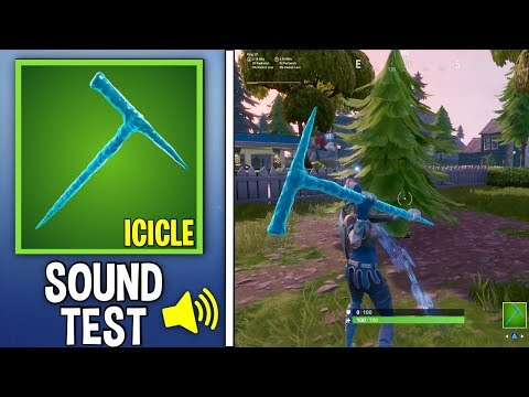 New Icicle Pickaxe Sound And Review!