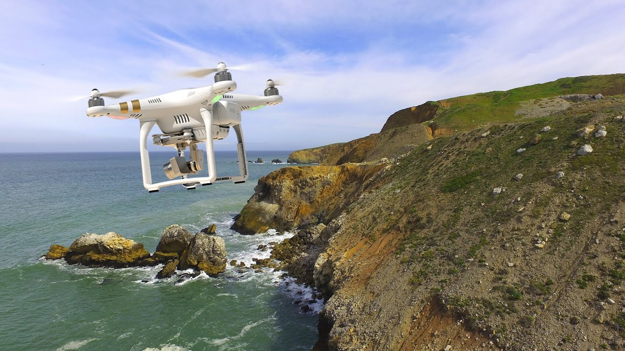 Flying Around Rockaway Beach Pacifica Ca