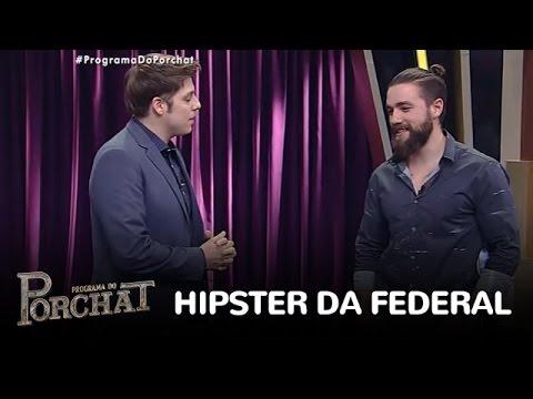 """""""Hipster da Federal"""" diz que Cunha é cheiroso e fala sobre prisão"""