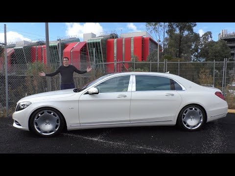 The $200,000 Mercedes-Maybach S600 Is an Insane Luxury Sedan
