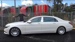 The $200,000 Mercedes-Maybach S600 Is an Insane Luxury Sedan