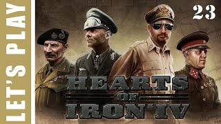 Hearts of Iron IV Germany Wins World War 2 Let's Play 23