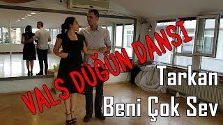 "Ankara Düğün Dans Kursu Vals | Tarkan ""Beni Çok Sev"" Türkçe - Vals Video"