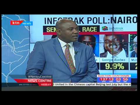 News Centre - 23rd March 2017 - [Part 2] - Info-Track releases survey on Nairobi Senatorial race