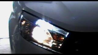 Lada Vesta.  Светодиодные ДХО и габариты