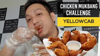 CHICKEN MUKBANG CHALLENGE - MAKAKAILAN KAYA AKO????????? - YELLOWCAB HOT WINGS