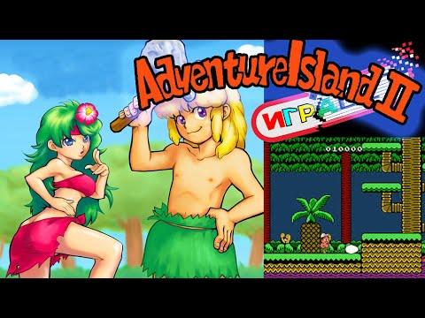 Стрим игры Adventure island 2 Прохождение Nes / денди