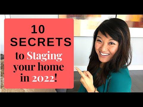 Staging: Top 10 Tips and Secrets for 2018 [HGTV Designer]