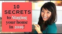 Staging: Top 10 Tips and Secrets for 2018 [HGTV Designer]