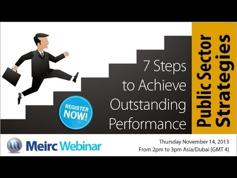 How to Build Successful Public Sector Strategies |Planning and Strategy Management| Dubai | Meirc