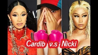 On Sight or Naw? Cardi B vs Nicki Minaj Fight .... Is Nicki a Mean Girl Who Met Her Match?