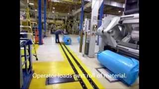 V-1 Smc Ez Roll Track System For Flexible Packaging