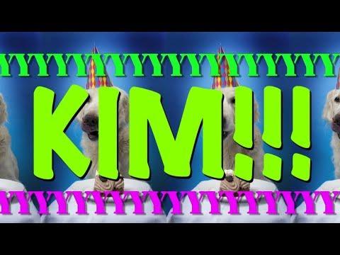 HAPPY BIRTHDAY KIM! - EPIC Happy Birthday Song