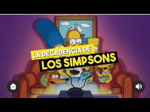 La Decadencia De Los Simpsons En Casi Dos Minutos Y Así Nomás Youtube