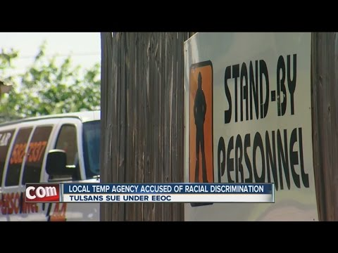 Local Temp Agency Accused Of Racial Discrimination
