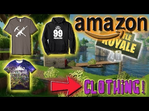 FORTNITE APPAREL!! - T-SHIRTS & HOODIES (AMAZON)