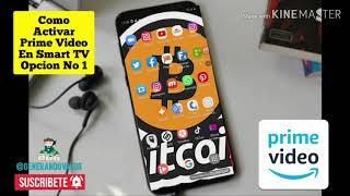 ✅Como 📲Activar Amazon Prime Video En Tu 📺 Smart TV 2020