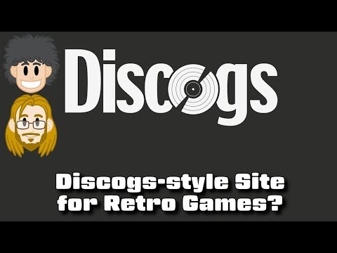 Discogs-style Site for Game Collectors and Retro Games? #CUPodcast