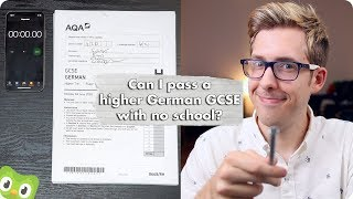 Can I Pass a Higher German GCSE with No School?