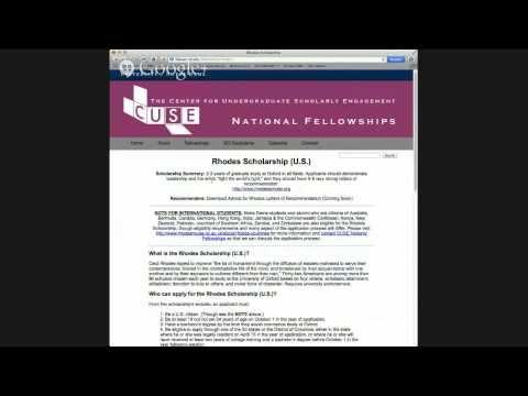 UK Postgraduate Scholarship Screening Application Workshop