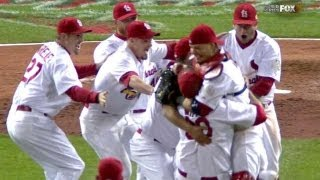 WS2011 Gm7: Cardinals win 11th World Series title