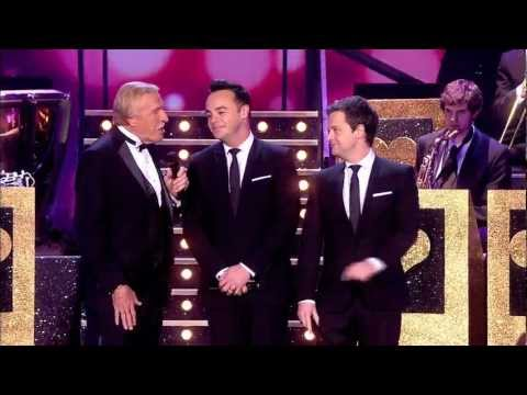 Opening song at The National Television Awards with Bruce Forsyth