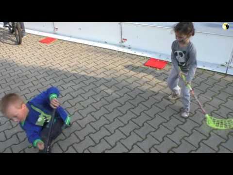 Florbal deti Tomášov 2016