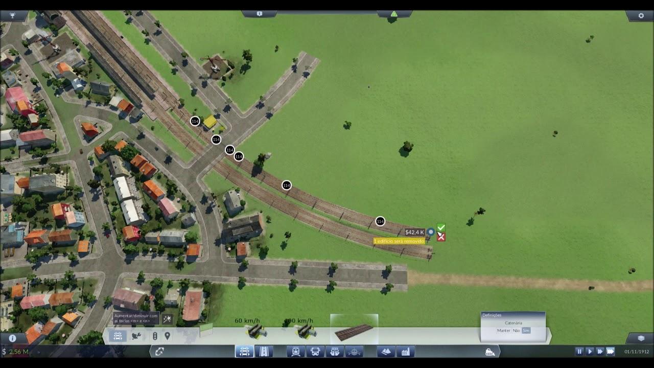 Transport Fever 003 Lets Play Gameplay Br Pt Mapa De Portugal