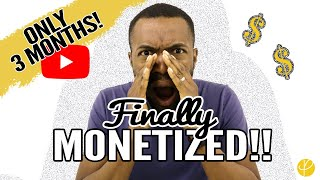 HOW WE HIT YOUTUBE MONETIZATION IN 3 MONTHS: Google AdSense, YouTube Ads, Review process, Tips, etc!