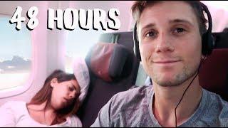 The Hardest Travel Days - RAW Travel Vlog