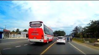 Tổng hợp : Bản lĩnh xe khách - Dám vượt & lách khi trên xe nhiều khách ?!