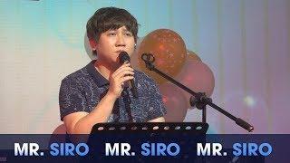 Tự Lau Nước Mắt - Mr. Siro ft Sirocon (Live)
