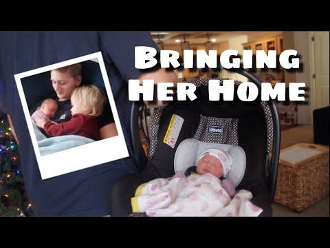 Bringing Our Newborn Home // Teen Mom of 2 *vlogmas*