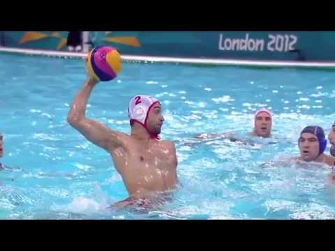 Water Polo Mejores Momentos Serbia VS Montenegro Londres 2012 Bronze Medal Match