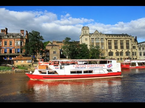 Party Boat in York. The Captain James Cook at YorkBoat