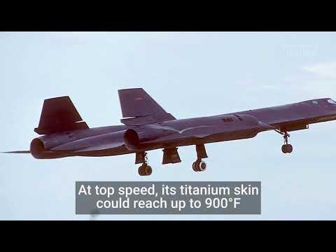 Watch footage of the SR 71 Blackbird Business Insider